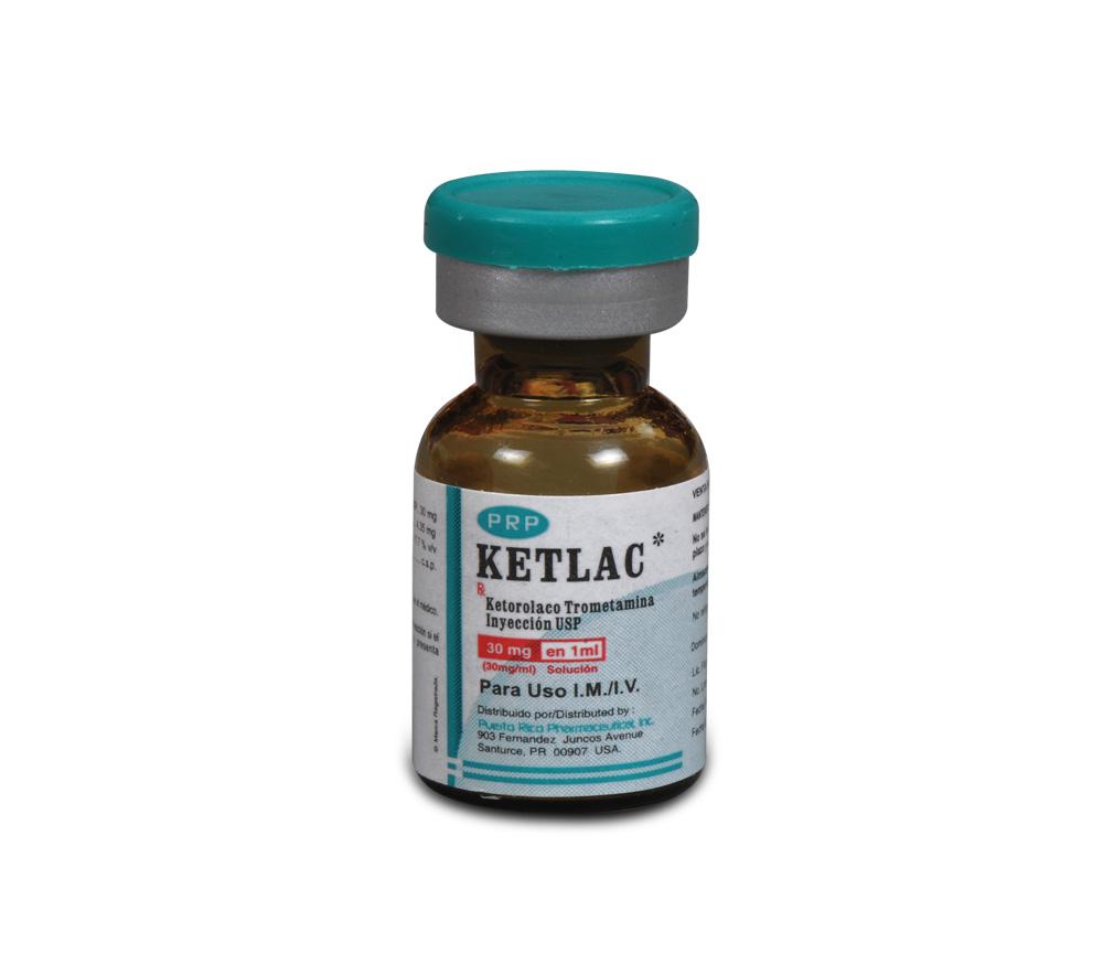 KETLAC Ketorolac Tromethamine Injection USP » SGPharma
